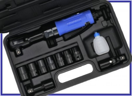 Kit de clé à cliquet pneumatique