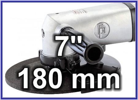 Amoladora de aire de 7 pulgadas (175 mm)