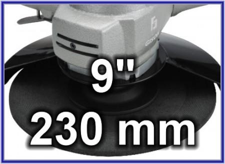 Amoladora de aire de 9 pulgadas (225 mm)