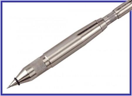 Ручка с воздушной гравировкой