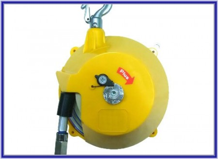 Balanceador de manguera de aire (diseño en espiral)