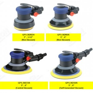 GPS-302 series Air Random Orbital Sander GPS-302 Series