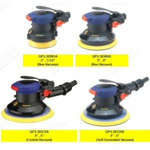GPS-303 series Air Random Orbital Sander (No Spanner,Safety Lever) GPS-303 Series