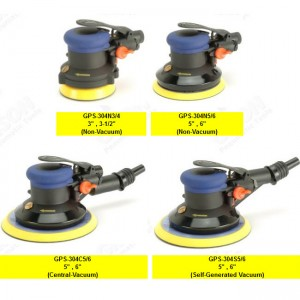 GPS-304 series Air Random Orbital Sander (No Spanner) GPS-304 Series