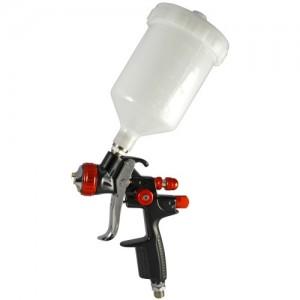 Pistola de pintura pneumática (Fundição sob pressão, para revestimento à base de água)