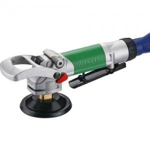 Полировщик влажного воздуха, шлифовальный станок для камня (3600 об / мин, задний выхлоп, предохранительный рычаг) GPW-221L
