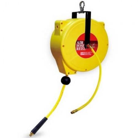 Handliche Luftschlauchtrommel (6,5 mm x 10 mm x 12 m) GP-RB06C