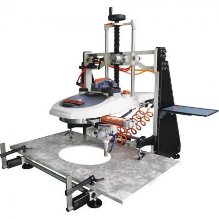 Cortador de ar com furo oval da pia / roteador de ar para lavatório GPW-M1