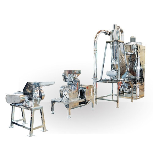 Spices Crushing and Grinding System