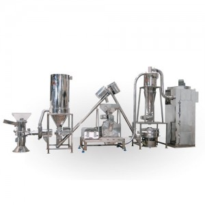 Herbs, Chitin Crushing, Grinding & Sieving System