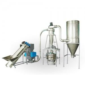 Herbs, Saffron, Plant fiber Raw Crushing system