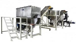 Suyu Tozu Karıştırma Paketleme Sistemi