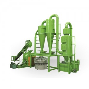 Palm Fibers Crushing & Grinding System