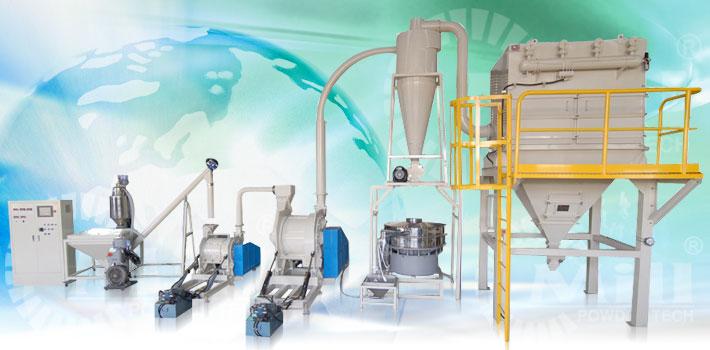 powder processing equipment system
