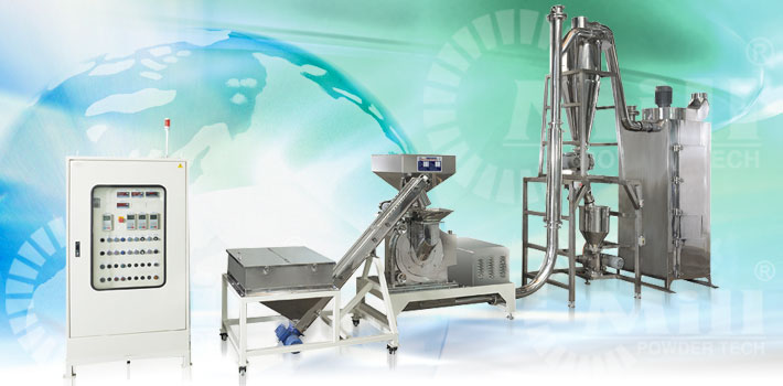 sugar spices grinding system