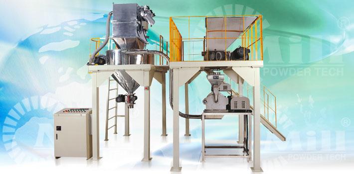 pin mill powder processing equipment