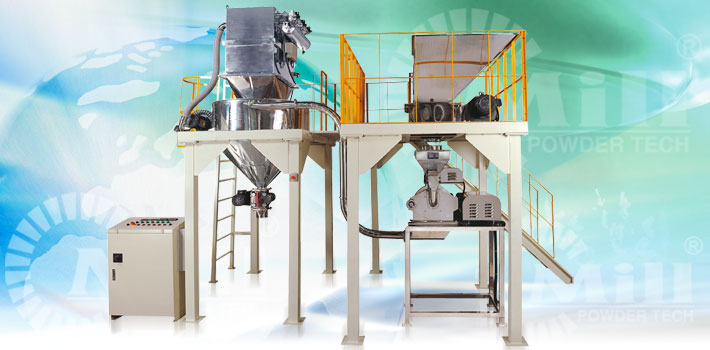 pin mill powder processing equipment