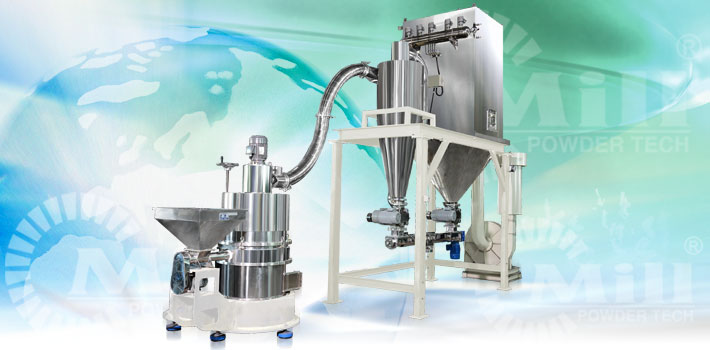 impact classifier mill with standard powder processing equipment