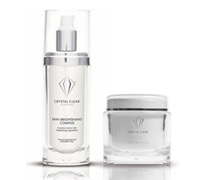 cosmetic container Crystal Clear