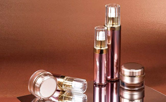 COSJAR's cosmetic container crystal reflection series