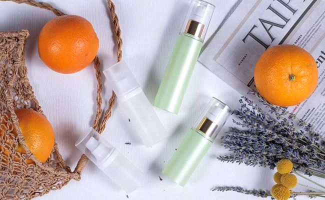 COSJAR's cosmetic container morning whisper series