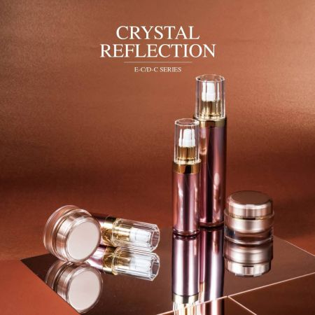 Crystal Reflection (Acrylic Luxury Cosmetic & Skincare Packaging)