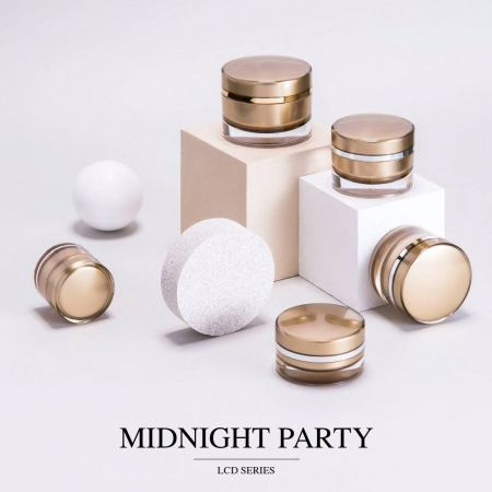 Midnight Party (Acrylic Luxury Cosmetic & Skincare Packaging)