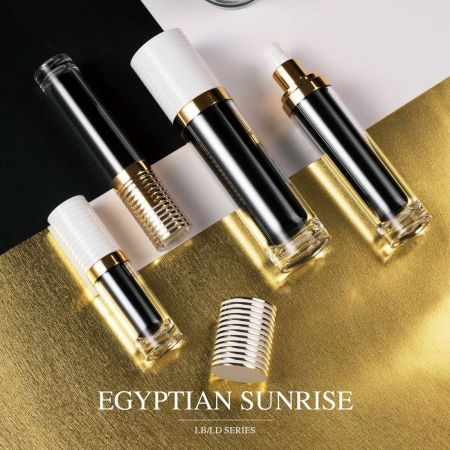 Egyptian Sunrise (Acrylic Luxury Cosmetic & Skincare packaging)