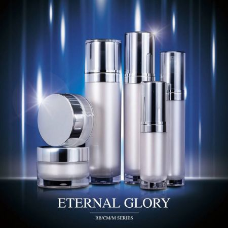 Eternal Glory (Round Acrylic Cosmetic Packaging Series)