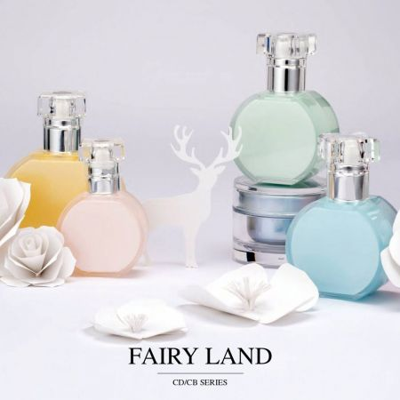 Fairy Land (Acrylic Cosmetic & Skincare Packaging)