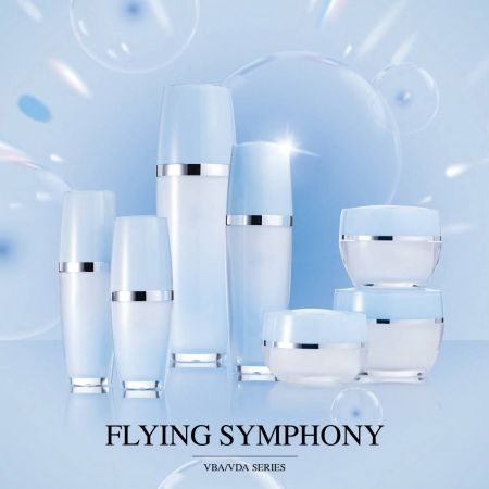 Flying Symphony (Acrylic Luxury Cosmetic & Skincare Packaging)