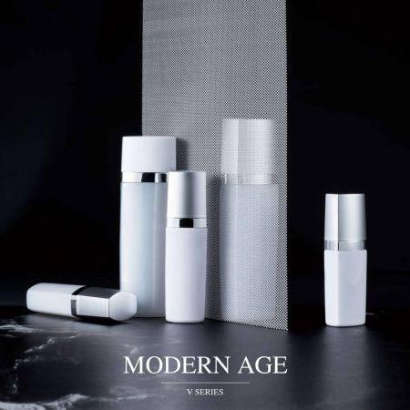 Современный век (гладкая и модная серия косметических упаковок для ПЭТ)