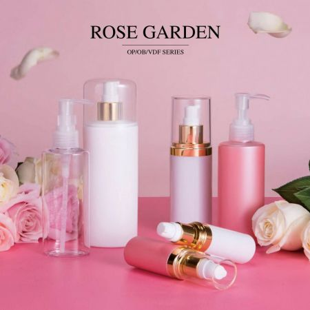 Rose Garden (ECO PETG & PP Cosmetic & Skincare Packaging)