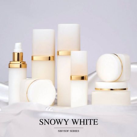 Snowy White (Eco PP Luxury Cosmetic & Skincare Packaging)