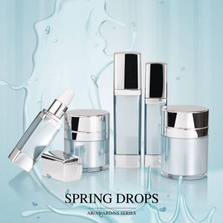 Spring Drops (Airless Luxury Acrylic Cosmetic & Skincare Packaging)