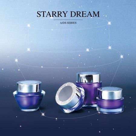 Starry Dream (Acrylic Luxury Cosmetic & Skincare Packaging)