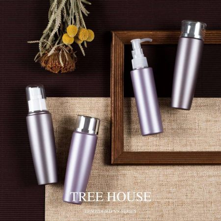 Tree House (ECO PET Cosmetic & Skincare packaging)