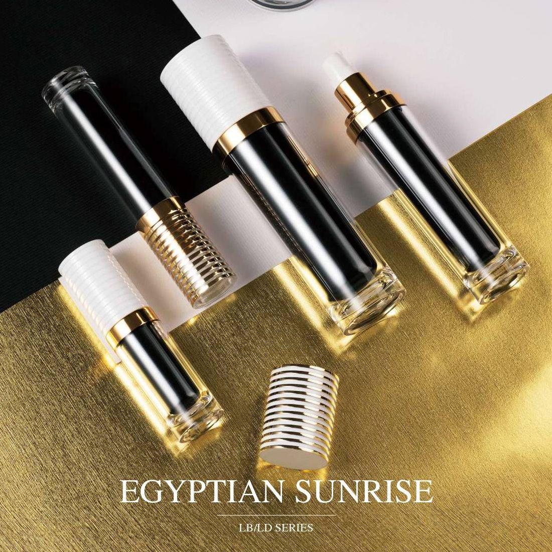 COSJAR cometic container design - Egyptian sunrise series