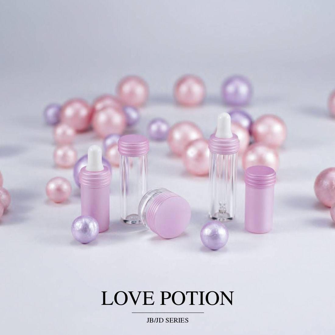 COSJAR cometic container design - Love potion series