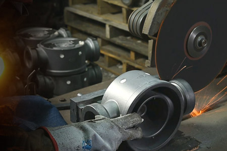 Investment casting process - tree removal