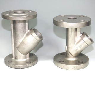 Y Type Valve Investment Casting