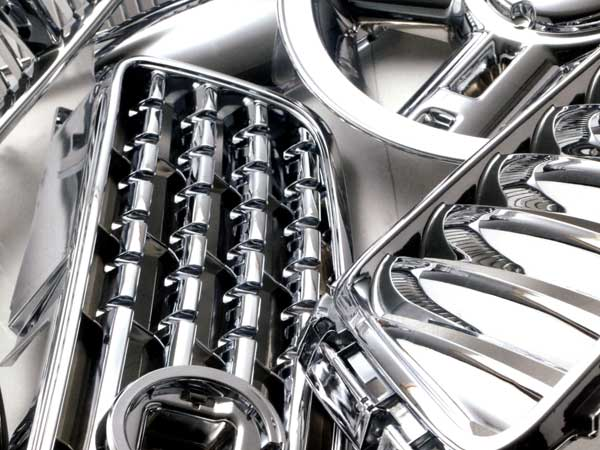 Bright Chrome Plastic Electroplating | Plastic Chrome Plating Service - CYH