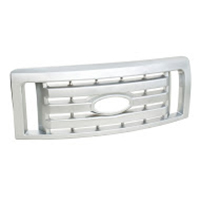 Ford Chrome Car Front Grille (Satin Nickel Plating ) CYH Satin nickel Grille