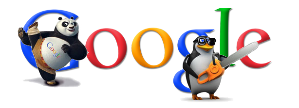 Google Panda and Penguin 熊貓與企鵝