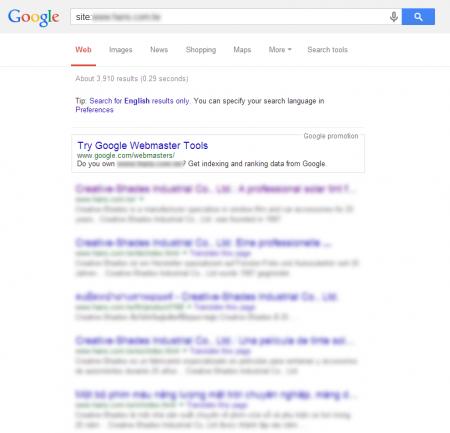 改版後 Google 共收錄 3,910 筆資料  (競爭力增加↑35,956.34%)
