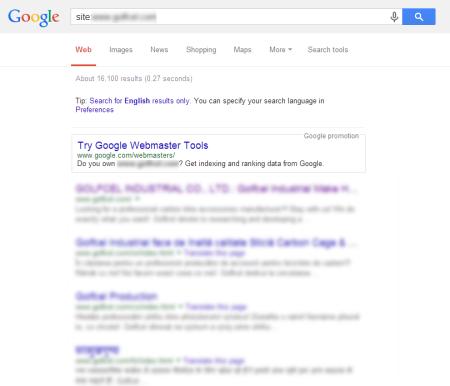 改版後 Google 共收錄 16,110 筆資料  (競爭力增加↑11165.73%)