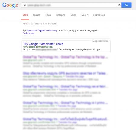 改版後 Google 共收錄 4,330 筆資料  (競爭力增加↑3037.68%)