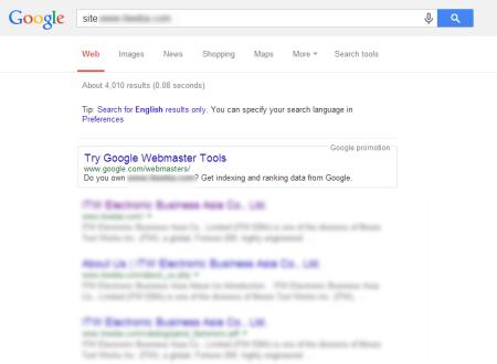 改版後 Google 共收錄 4,010 筆資料  (競爭力增加↑9680.49%)