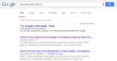 改版後 Google 共收錄 204,000 筆資料  (↑8329.75%)