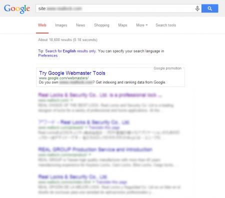 改版后Google 共收录18,600 笔资料(竞争力增加↑10,233.33%)